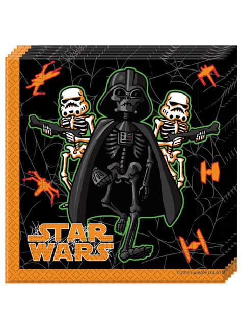 Set de 20 servilletas Star Wars Halloween