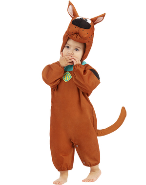 Scooby Doo Costume fyrir börn