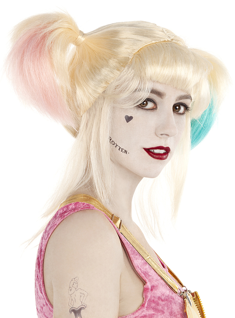 Peluca de Harley Quinn - Birds of Prey