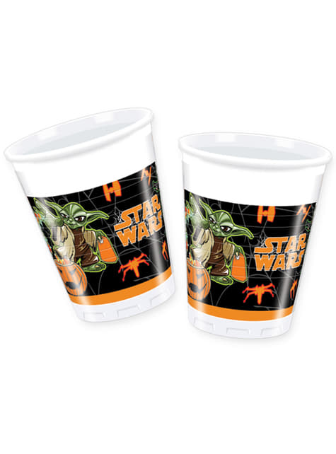 Set de 8 vasos Star Wars Halloween