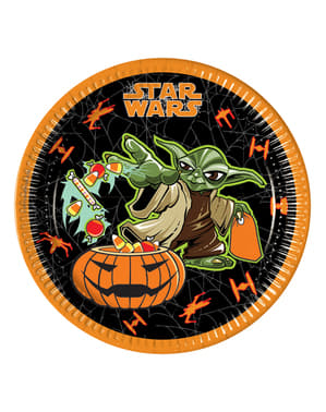 8 platos Star Wars Halloween
