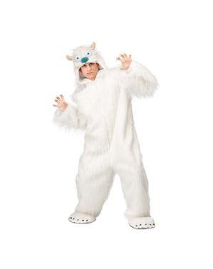 Yeti kostume til voksne