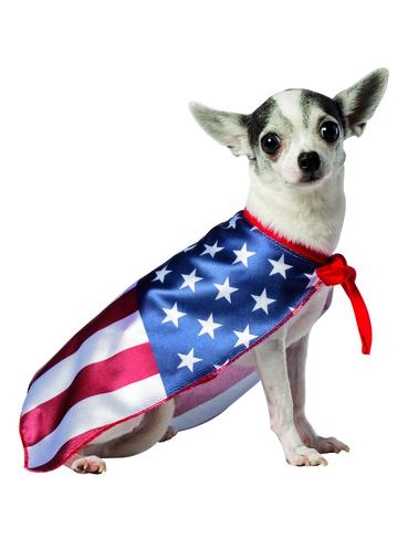 Déguisement Drapeau Etats-Unis chien | Funidelia