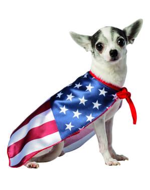 Dog's United States Flag Costume
