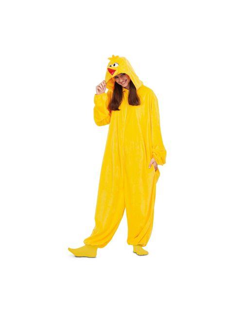 Strój onesie Wielki Ptak dla dorosłych Ulica Sezamkowa