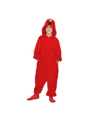Elmo från Sesam Basic Onesie Maskeraddräkt för barn