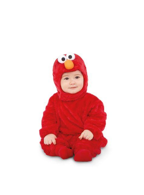 Elmo uit sesamstraat Basis Onesie kostuum voor baby's