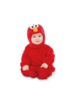 Disfraz de Elmo Barrio Sésamo onesie para bebé