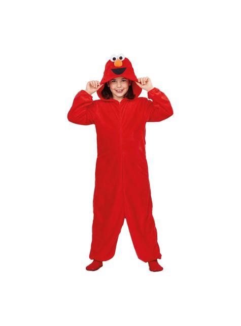 Déguisement Elmo Sesame Street onesie basique enfant