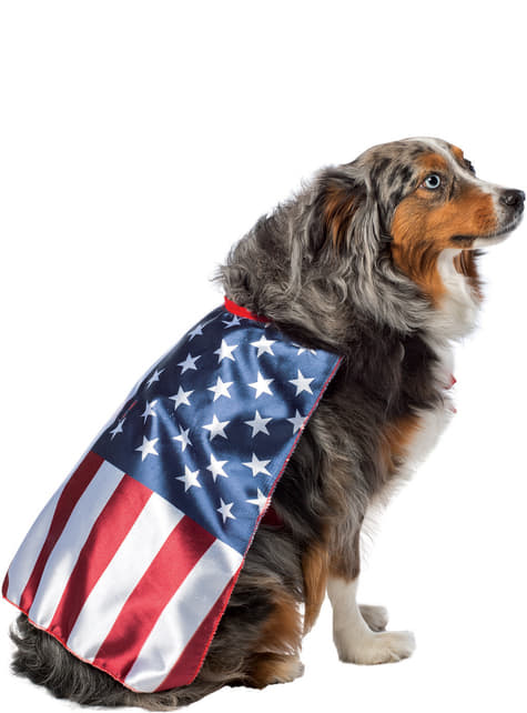 犬のアメリカ合衆国旗コスチューム