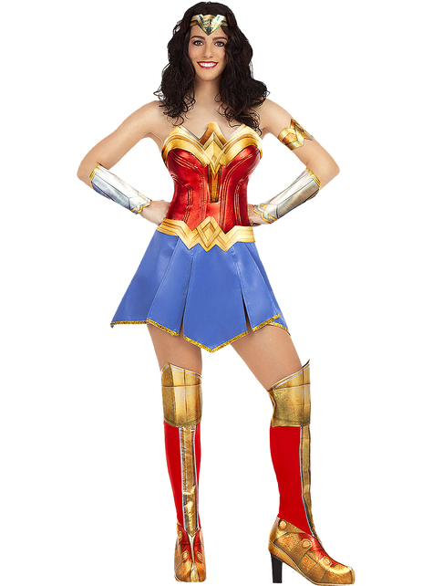Costume Wonder Woman taglie forti