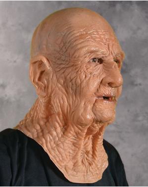 Máscara de abuelo para adulto