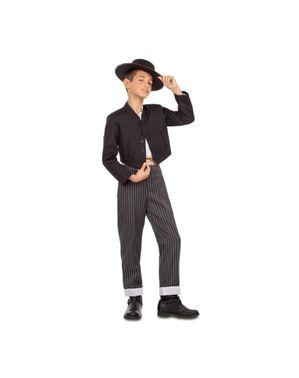 Tradisjonell spansk andalusisk kostyme til gutter