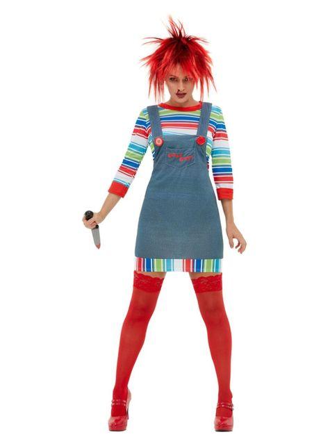 Chucky-nainen-asu aikuisille