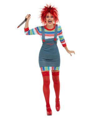 Chucky Kostyme Dame