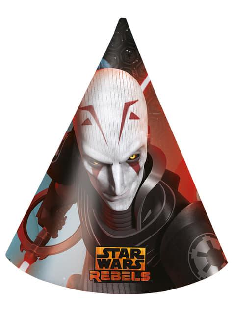 6 chapeaux Star Wars Rebels