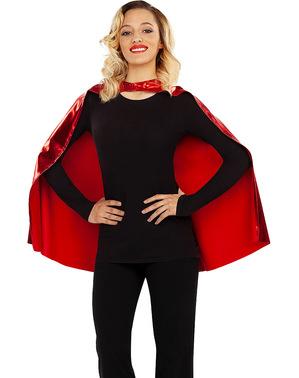 Supergirl mantel för dam