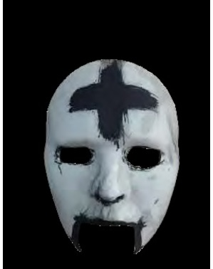 Maska Krzyżyk The Purge Noc Oczyszczenia