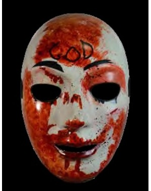 Zakrwawiona maska The Purge Noc Oczyszczenia