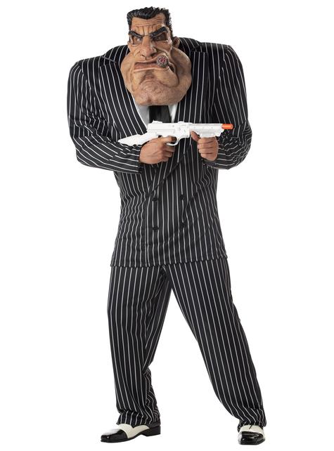 Disfraz de gangster matón para hombre