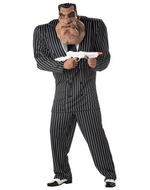 Kæmpe gangster kostume til mænd