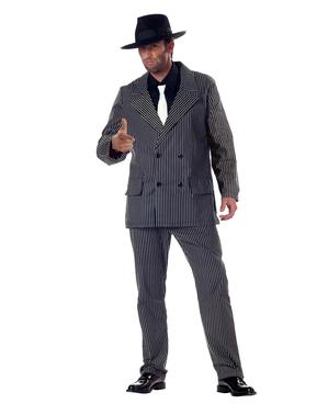 Pánský kostým nelítostný mafián