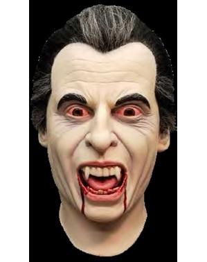 Skummel vampyr lateksmaske