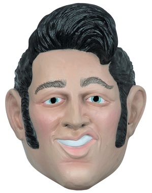 Elvis Latex Mask
