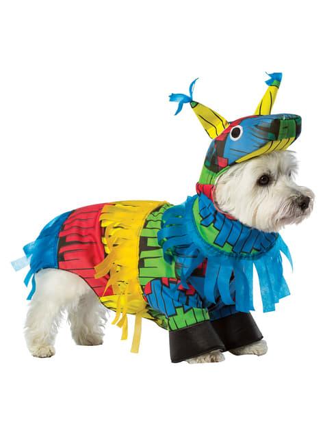 Disfraz de piñata para perro - perro