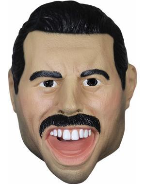 Máscara de Freddie Mercury de látex