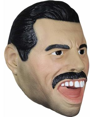 Mască Freddy Mercury de latex