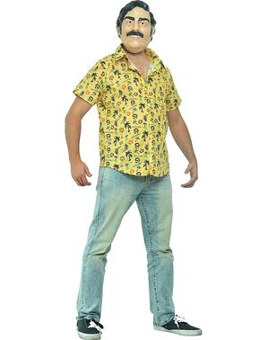 Costum Pablo Escobar pentru bărbat