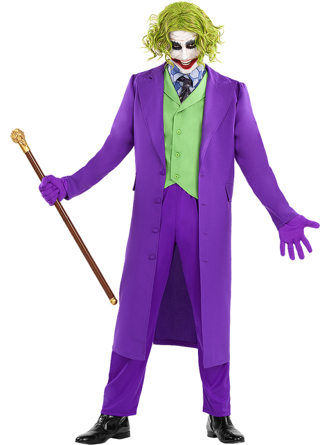 Strój Joker plus size - Mroczny Rycerz