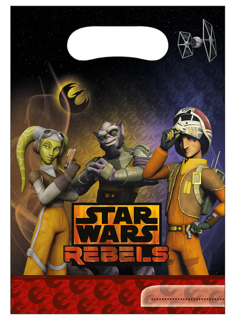 6 bolsas Star Wars Rebels
