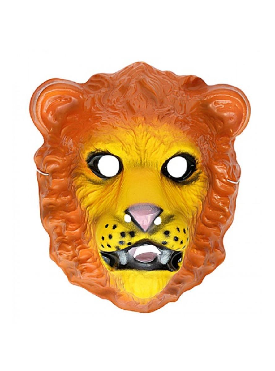 löwe gesichtsmaske für kinder aus plastik die lustigsten