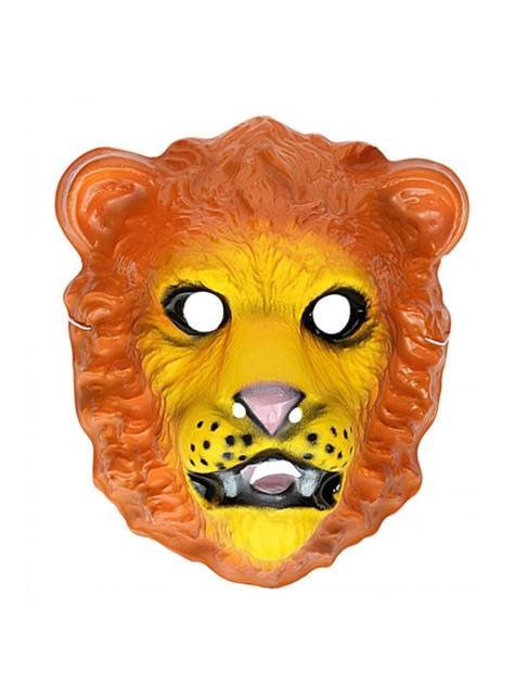 子供用のプラスチック製のライオンマスク