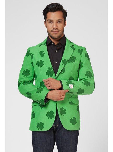 St. Patrick's Shamrock Jas Opposuit voor mannen