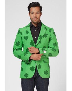 Opposuits St. Patricks Kløver jakke til mænd