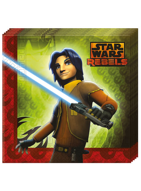 20 servilletas Star Wars Rebels (33x33 cm)