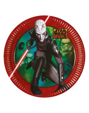 Set 8 piatti Star Wars Rebel (23 cm) - Star Wars Rebels
