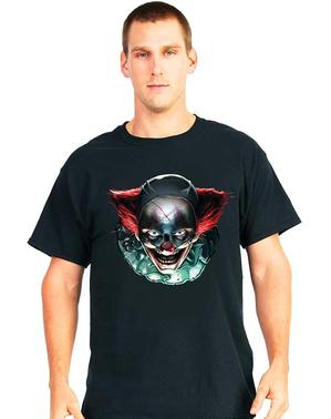 T-shirt de clown aux yeux diaboliques Digital Dudz