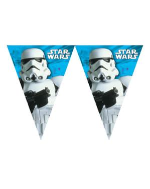 Banner stegulețe Star Wars & Heroes