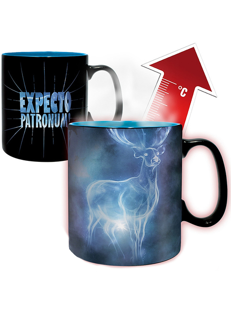 Taza de Harry Potter Patronus cambia color