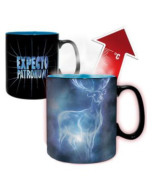 Farbewechselnde Tasse Patronus Harry Potter