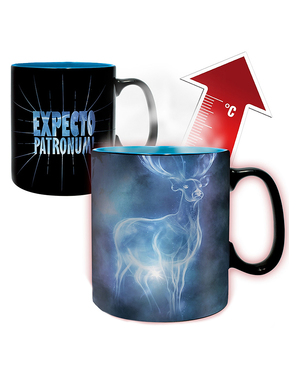 Mug Harry Potter Patronus change de couleur
