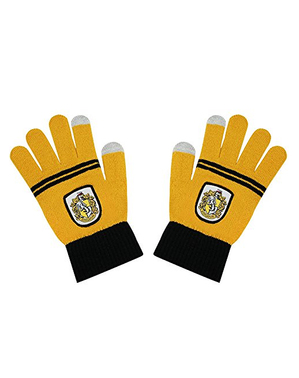 Hufflepuff tactile gloves - Harry Potter