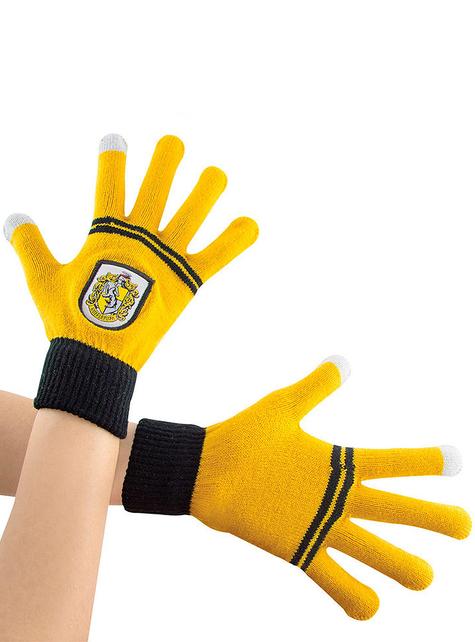 Rękawiczki dotykowe Hufflepuff - Harry Potter