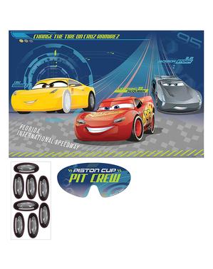 Autot -peli lasten juhliin