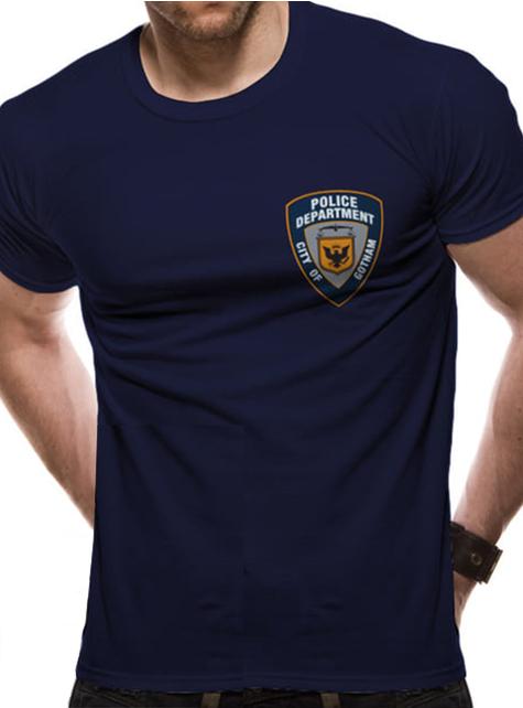Batman Gotham Politi T-Skjorte til Menn