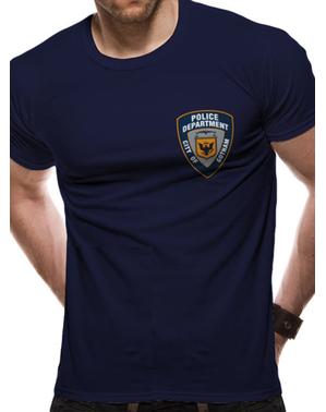 Batman Gotham Politi T-Shirt til mænd